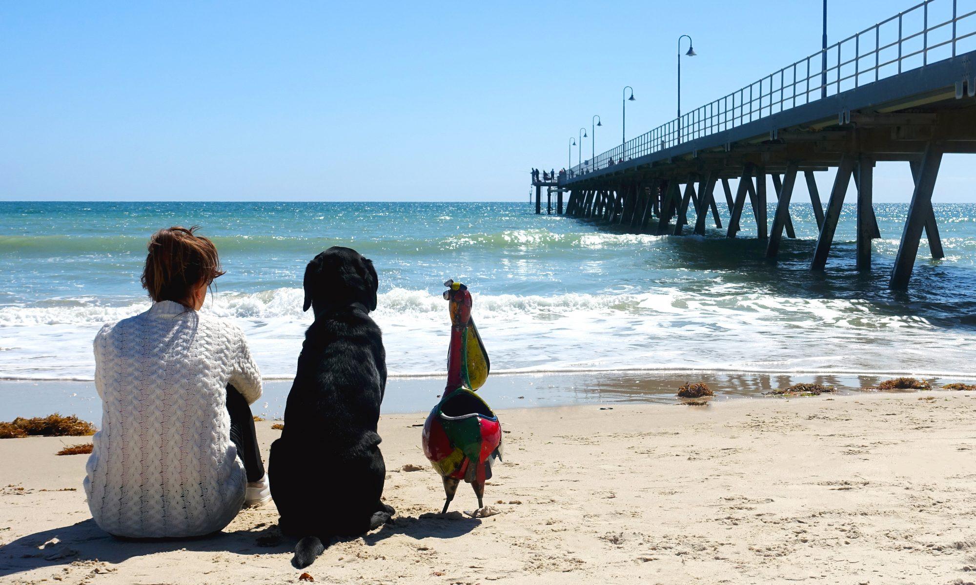 Glenelg beach, Adelaide South Australia